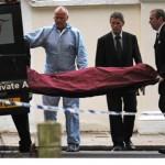 zona off limits durante il trasporto del corpo della cantante Amy Winehouse